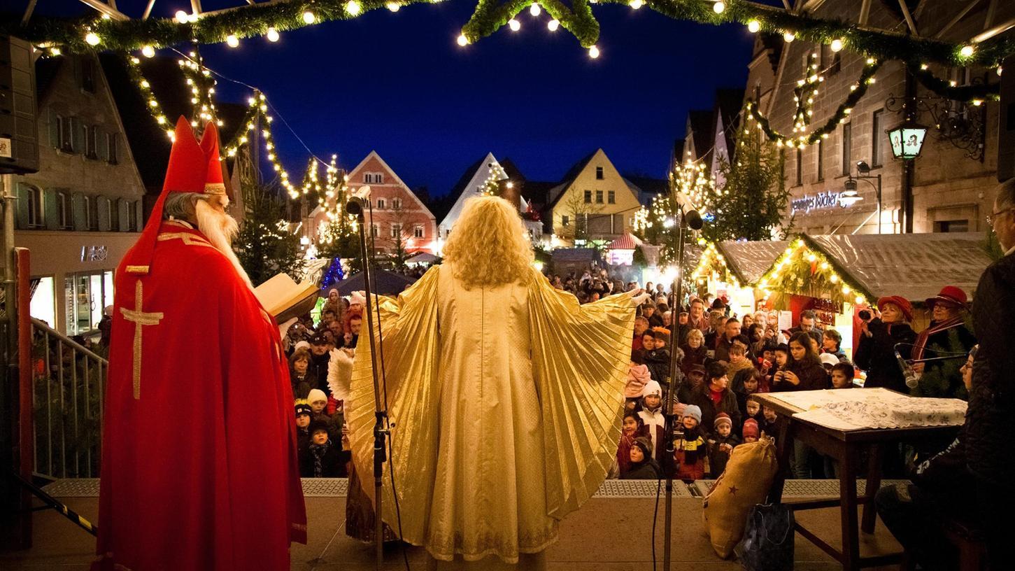 Der Rother Christkindlesmarkt könnte nach den neuen Vorgaben vielleicht doch noch stattfinden - zumindest an zwei Adventswochenenden.