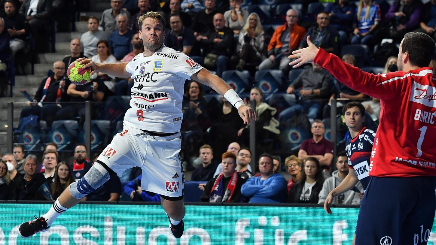 Gegen Flensburg eine wichtige Stütze, seitdem angeschlagen: Petter Overby.