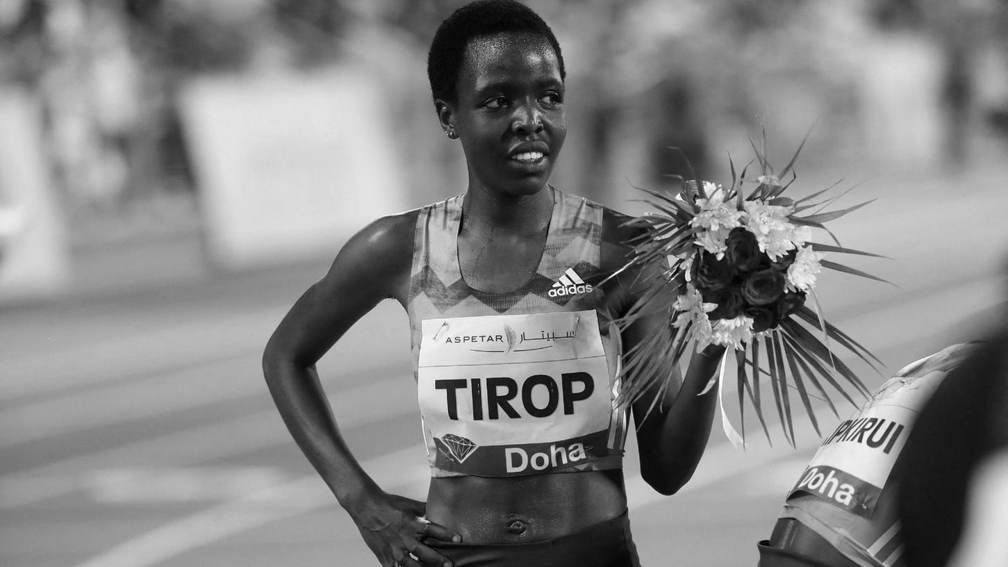 Lebt nicht mehr: Kenias Wunderläuferin Agnes Tirop, just erst in Franken siegreich, ist tot aufgefunden worden.