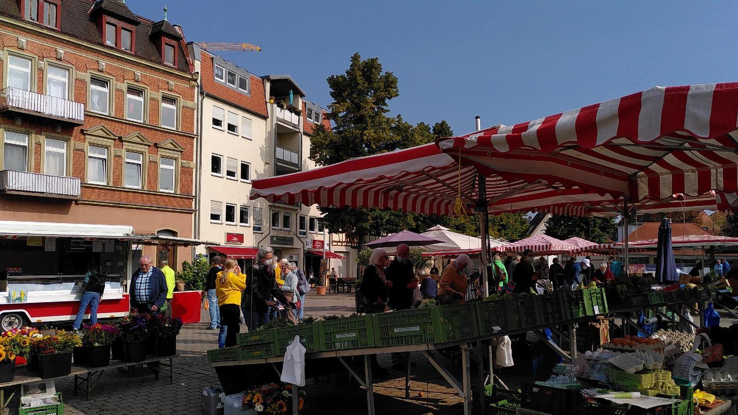 Auf dem Paradeplatz ist erst mal Schluss mit dem Markt.