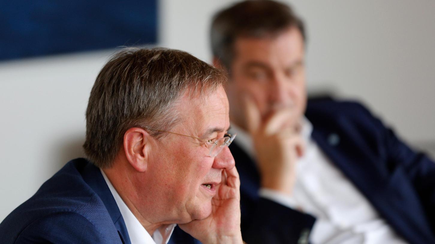 Ein CDU-Urgestein wirft Markus Söder vor, für das politische Aus von Armin Laschet gesorgt zu haben.