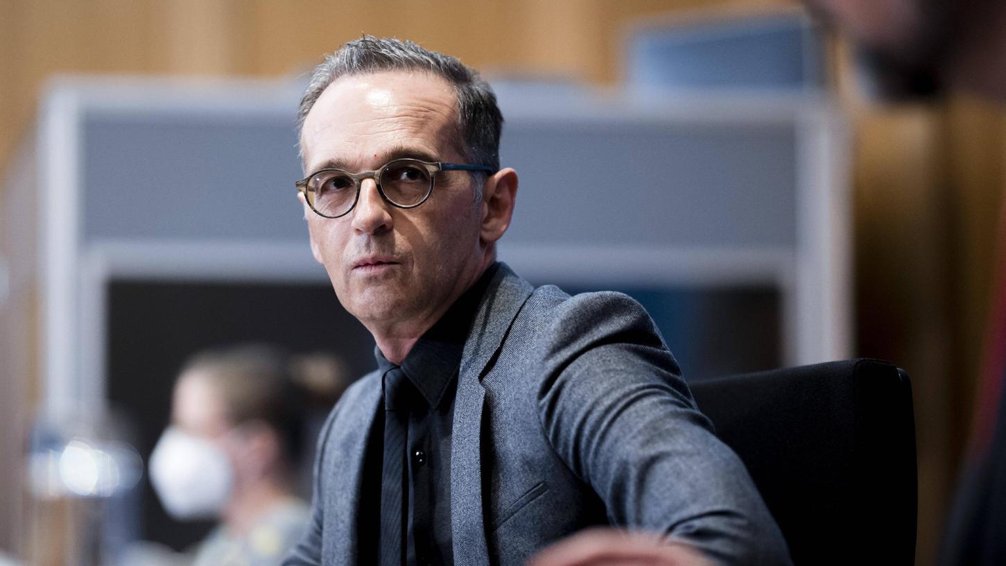 Außenminister Heiko Maas (SPD) wirft Fluggesellschaften vor, illegale Flüchtlinge bei der Einreise in die EU über Belarus zu transportieren.