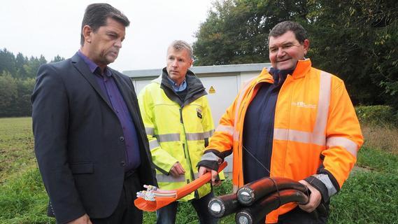 Arbeiten abgeschlossen: Energienetz bei Pottenstein modernisiert
