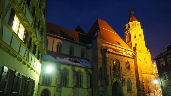 Die Andreaskirche wird wieder beleuchtet
