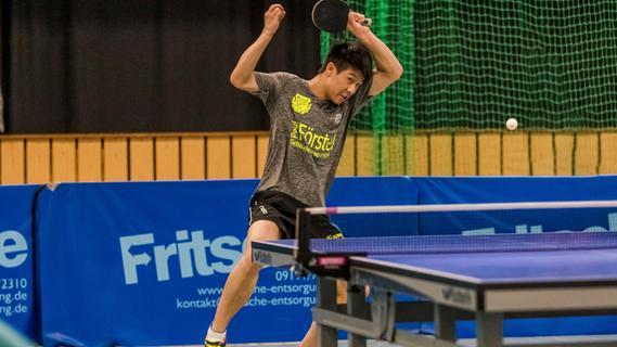 Das macht ein Tischtennis-Toptalent aus Australien in Effeltrich