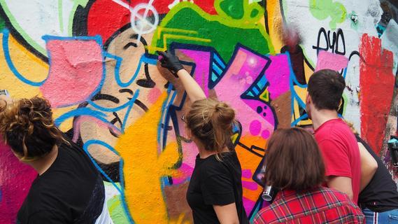 So geht Graffiti