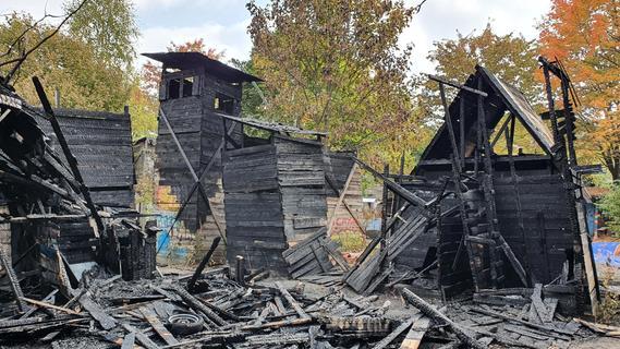 Brand auf Abenteuerspielplatz Taubenschlag: Polizei geht von Brandstiftung aus