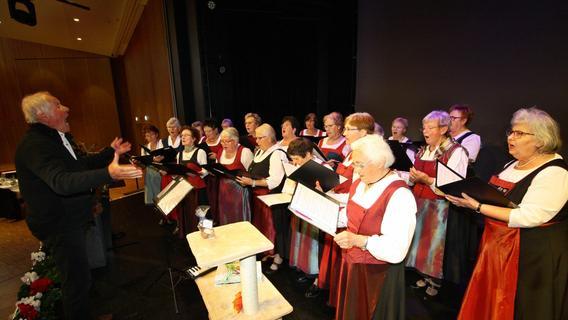 Der Landfrauenchor Altmühlfranken hatte seinen allerletzten Auftritt