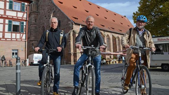 Radpilgern rund um Schwabach