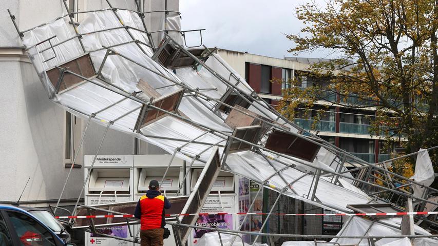 Unwetter in Bayern angekommen: Erste Schäden im Norden - Wind wird zunehmen