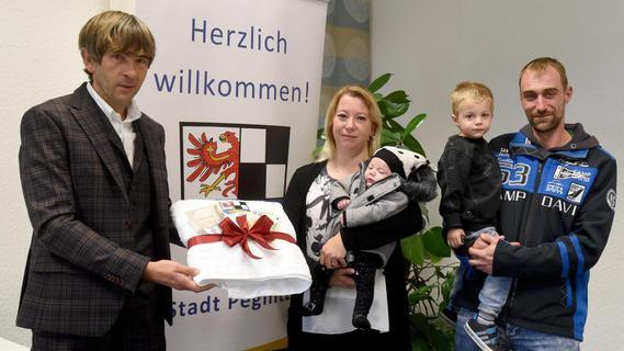 Bundespräsident übernimmt Ehrenpatenschaft: Pegnitzer Familie hat sieben Kinder
