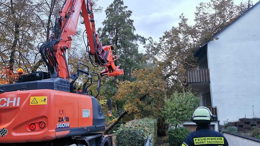 Sturmtief Ignatz fegt durch den Landkreis: So hat es die Gemeinden getroffen