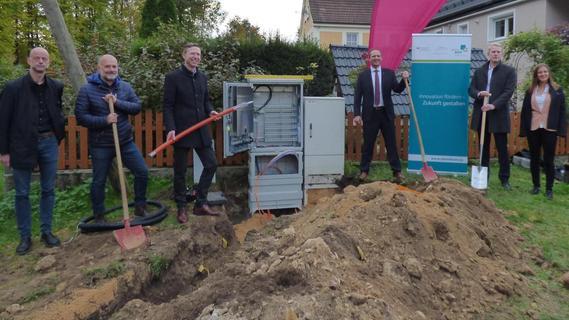 Startschuss für Glasfaser-Ausbau im Landkreis Bayreuth