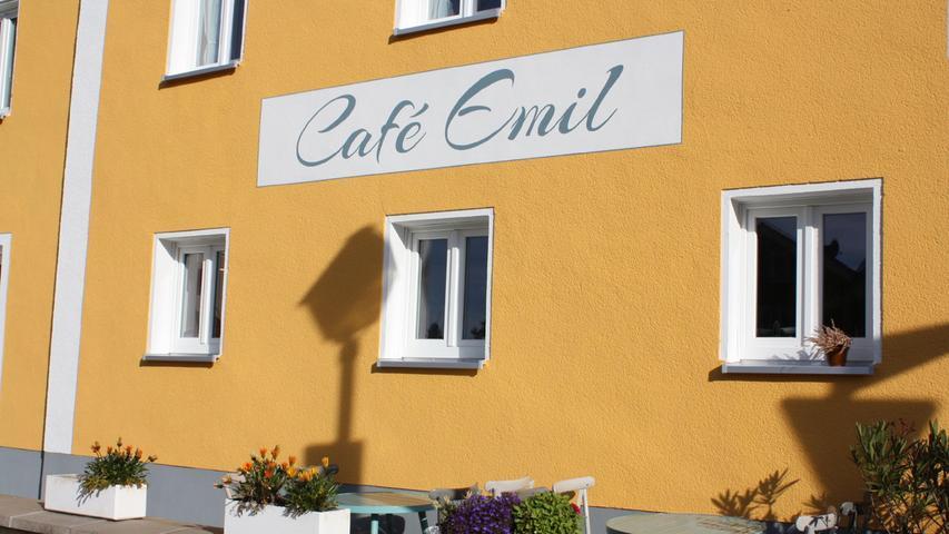 Café Emil am Heidenheimer Marktplatz eröffnet