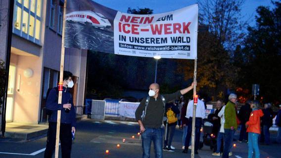 Kampfansage gegen ICE-Werk: