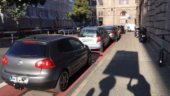 Nürnberg: Für Radweg-Parker wird es nun richtig teuer