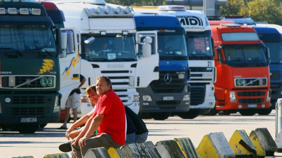 Zu wenige Lkw-Fahrer: Droht in Bayern auch ein Versorgungskollaps?