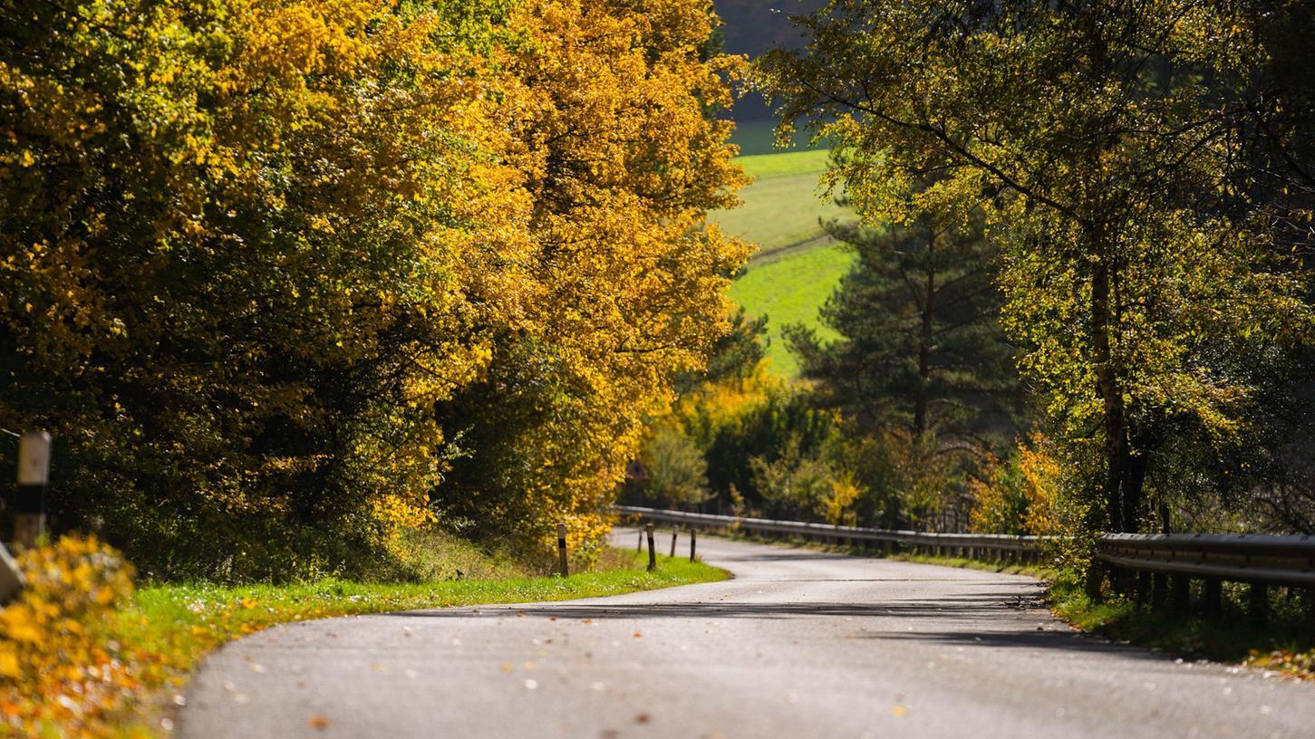 Das Wochenende hält noch einmal schönstes Herbstwetter für Franken bereit.