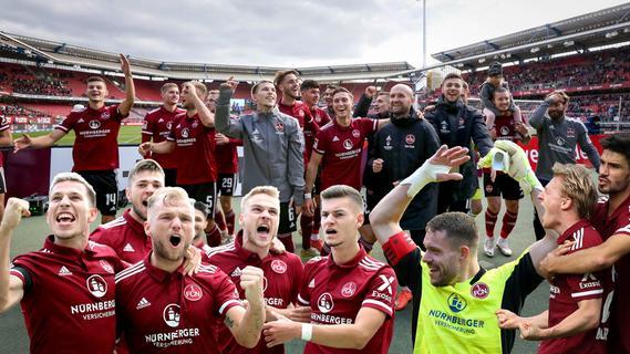 Drei Traumtore und Ekstase pur beim FCN: Die schönsten Jubelbilder zum 4:0!