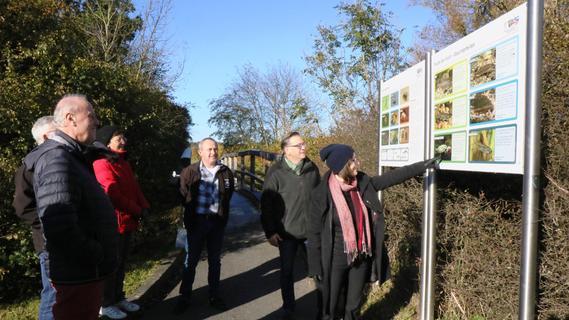 Zwischen Höchstadt und Adelsdorf: Fischereilehrpfad entlang der Aisch offiziell eröffnet