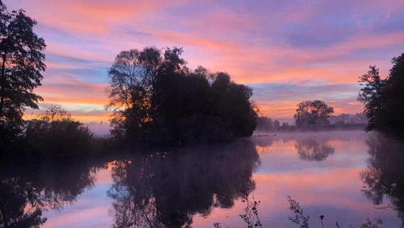Sonnenaufgang verzaubert Franken: Die schönsten Bilder unserer User