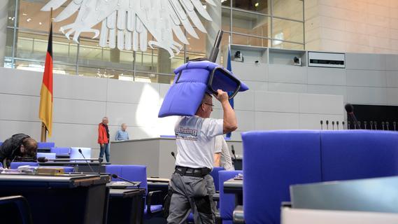 Schwabacher bauen den Bundestag um