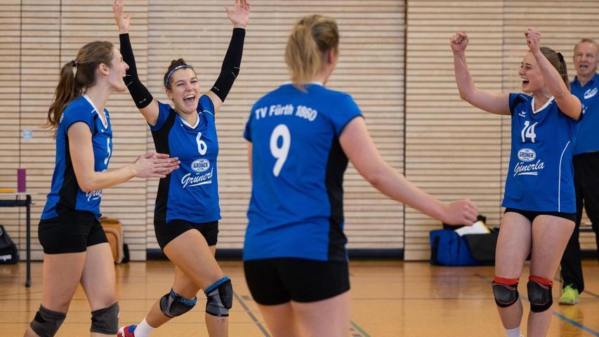 Volleyball: Freude über den ersten Punkt beim TV Fürth 1860