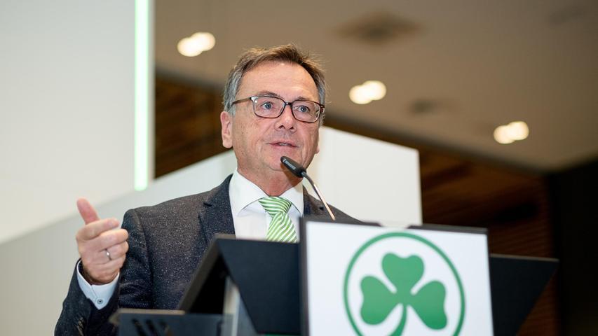 Kleeblatt-Präsident Höfler über die sportliche Lage, Investoren und das Thema SpVgg Fürth