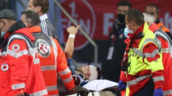 Nach Verletzungsschock für den FCN: Krauß gibt Entwarnung