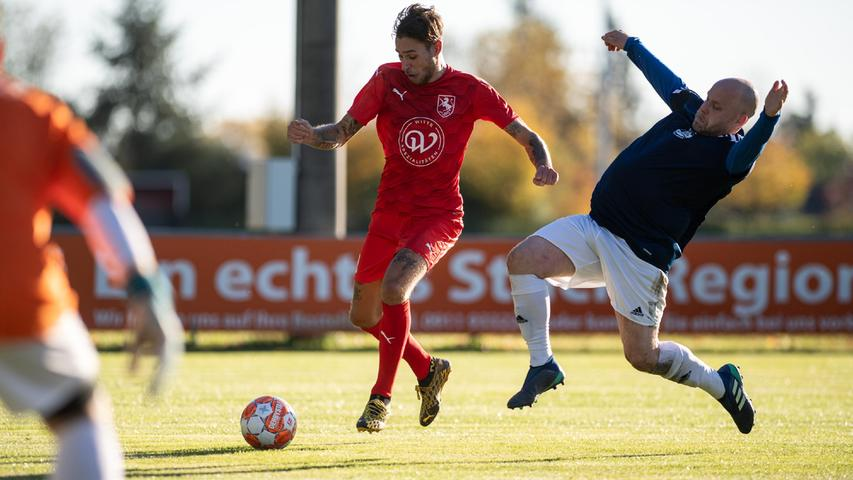 Showdown in der B-Klasse 9: TSV Sack überholt MTV Stadeln Blau-Weiß