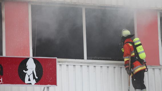 Nürnberger FKK-Club brennt aus - Brandursache gefunden