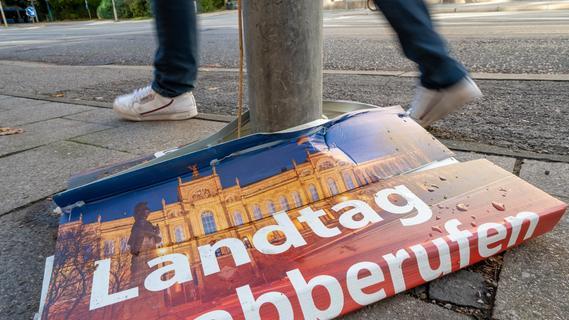 Umstrittenes Volksbegehren zur Landtags-Auflösung klar gescheitert