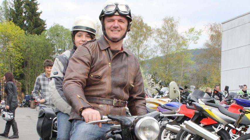 In Sternenform nach Oberfranken: Die Motorradsaison ist eröffnet