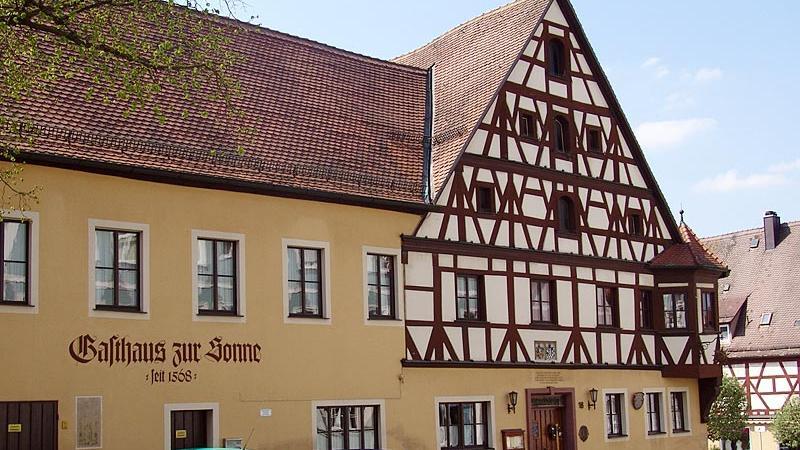 Gasthaus Zur Sonne Neustadt A D Aisch Gastro Guide Nordbayern