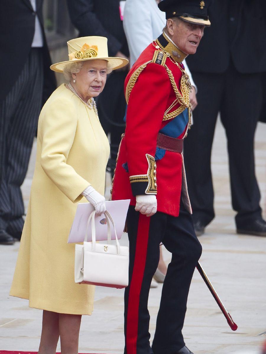 Queen Elizabeth und Prinz Philip.