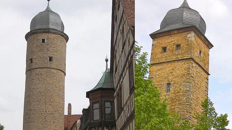 Gerolzhofen ist eine Stadt, die sich bis heute ihren mittelalterlichen Charme erhalten hat. Sie verfügt überzwei teilweise noch gut erhaltene Mauergürtel. Die Altstadt umschließt seit dem 14. Jahrhundert eine rechteckige Innenmauer, flankiert von zwei, sich gegenüberstehenden, besonders eindruckvollenStadttürmen.