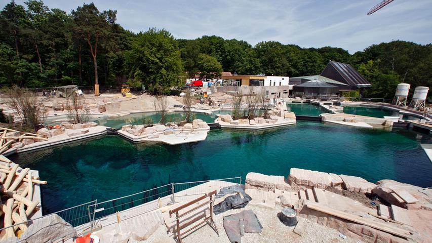 Delfin-Lagune im Tiergarten