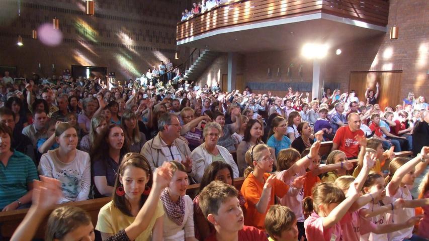 Schwester Teresa schenkt Pegnitz zum Abschied Festival