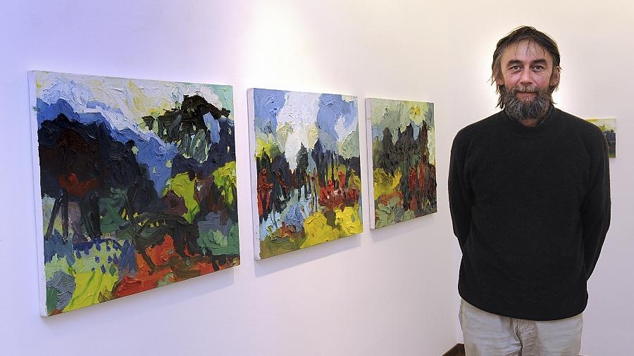 Das Verständnis für seine Kunst ist in China ausgeprägter, sagt Bernhard Maria Fuchs. Ins Reich der Mitte reisen müssen Interessierte aber nicht: Seine Bilder sind bis Ende Juli in Nürnberg ausgestellt.