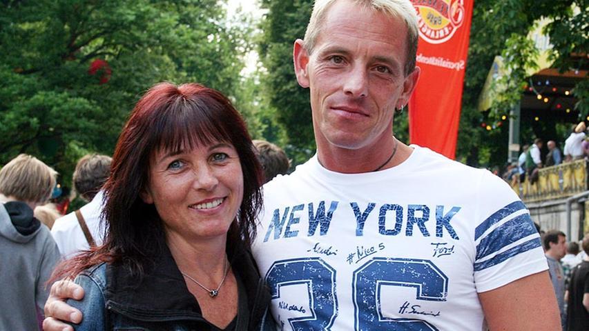 Anni (42) und Matthias (42) aus Erlangen sind der Meinung, dass der erste Tag immer der schönste ist.