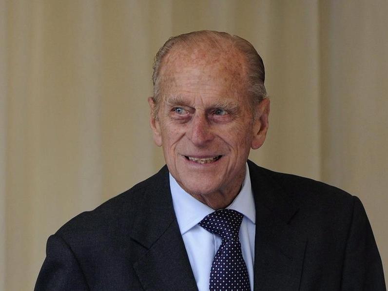 Das Geburtstagskind: Prinz Philip.