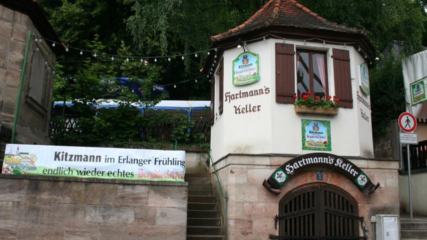 Namensgeber des Hartmann's Kellers ist eine Kleinbrauerei, die zwischen 1872 und 1882 aktiv war und ausschließlich der Versorgung der Gaststätte