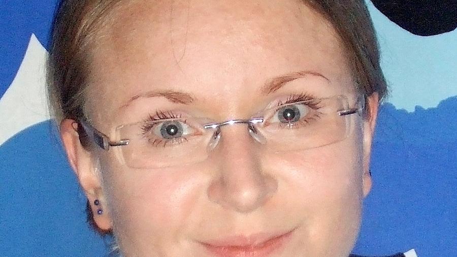 Eine begeisterte Mölkky-Spielerin: Mari Koskela.