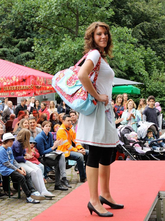 bis zum Sommerkleidchen mit schicker Tasche gab es viel zu sehen, auch ....