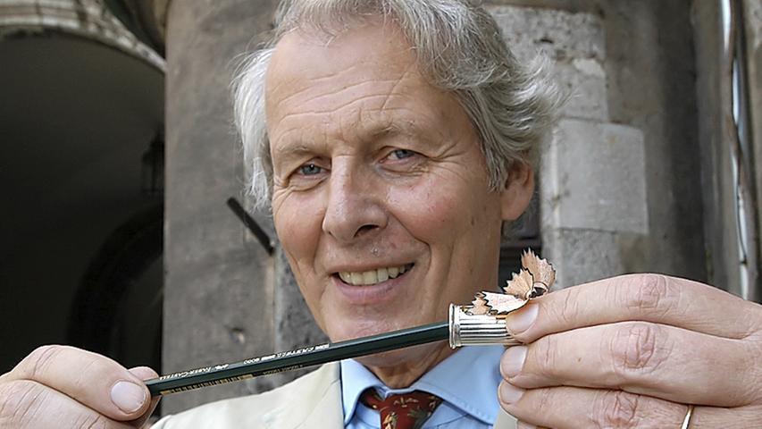 Anton-Wolfgang Graf von Faber-Castell war bis zu seinem Tod im Januar 2016 der Herr im Hause Faber-Castell.