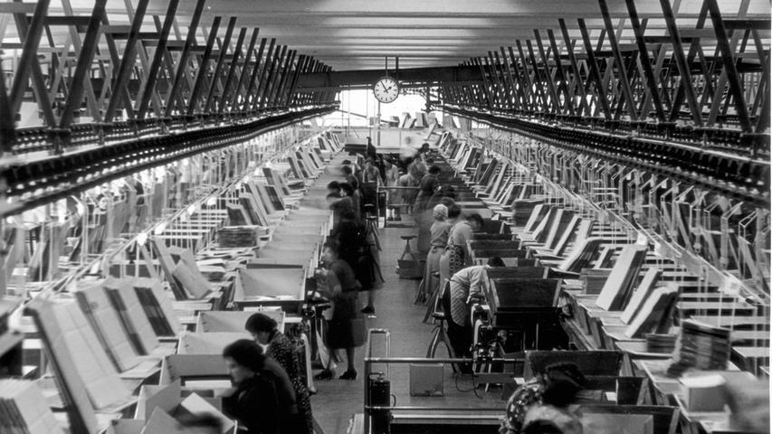 Die Paketpackerei galt in den 50er Jahren als die modernste ihrer Art.