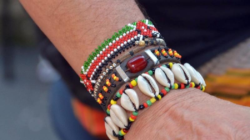 Beliebt in der ganzen Welt: Afrikanischer Schmuck tradioneller Art.