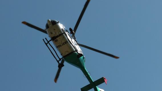 Verfolgung mit Hubschrauber auf dem Jura