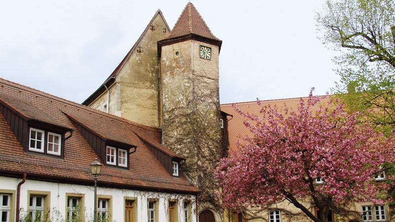 Das Aischgründer Karpfenmuseum ist im Alten Schloss in Neustadt an der Aisch untergebracht.