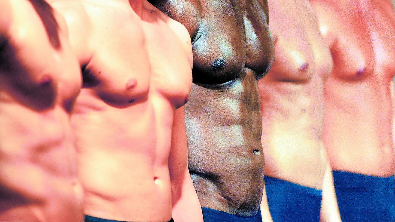 Brustwarzen bei männern
